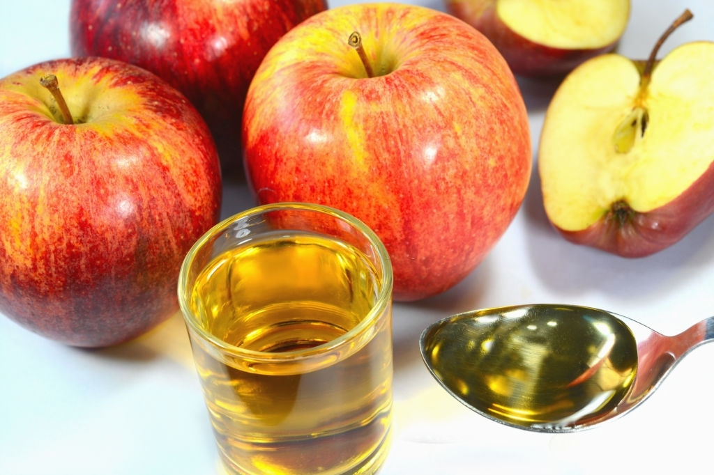 apple cider for silky hair at home