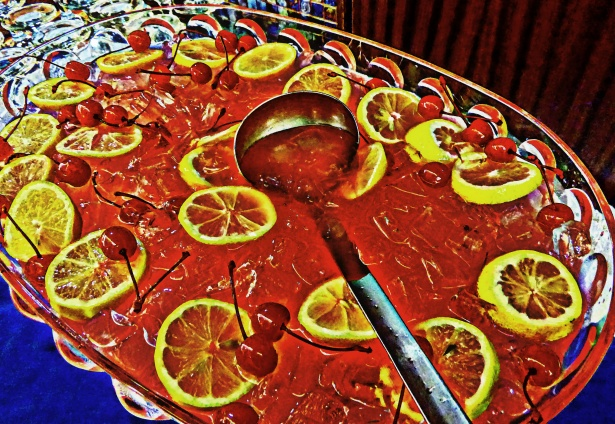 Fruit punch for kids party