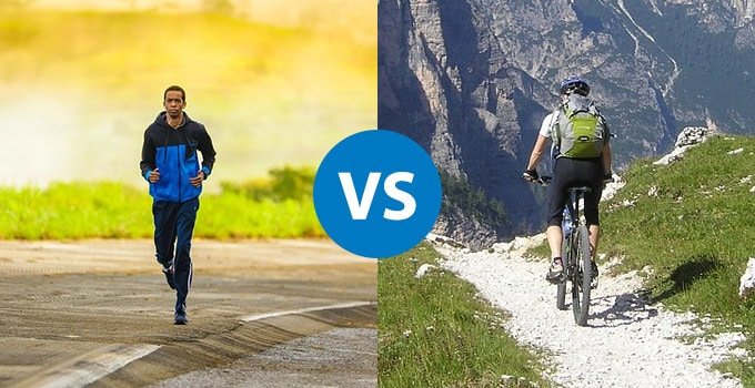 cycling vs running- which is better