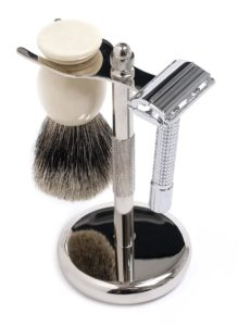 Shaving kit is essential for grooming