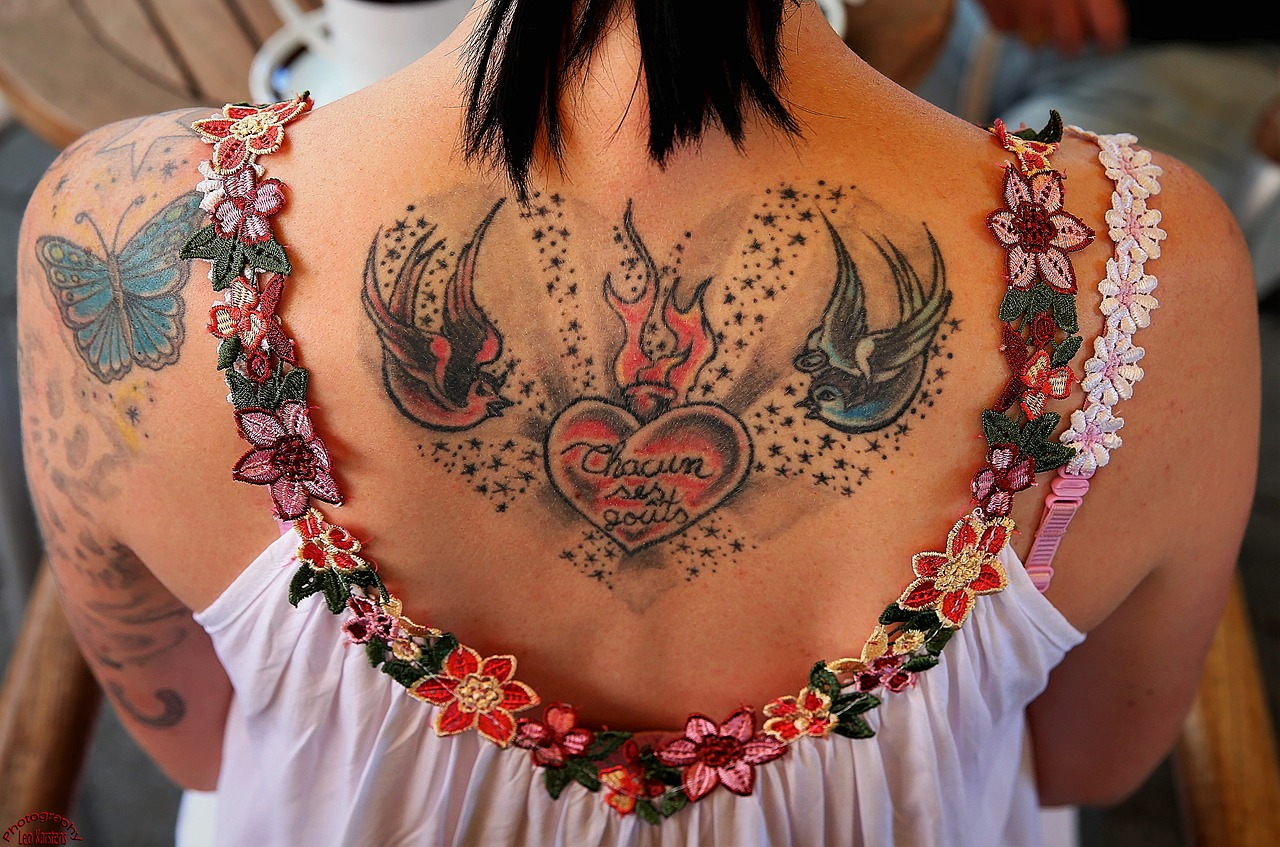 most painful spots to get a tattoo