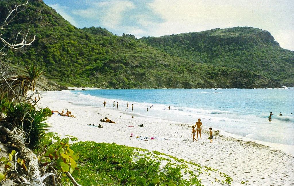Anse de Grande Saline nude beach