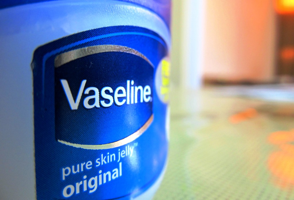 Vaseline - Petroleum based ointment for tattoo aftercare
