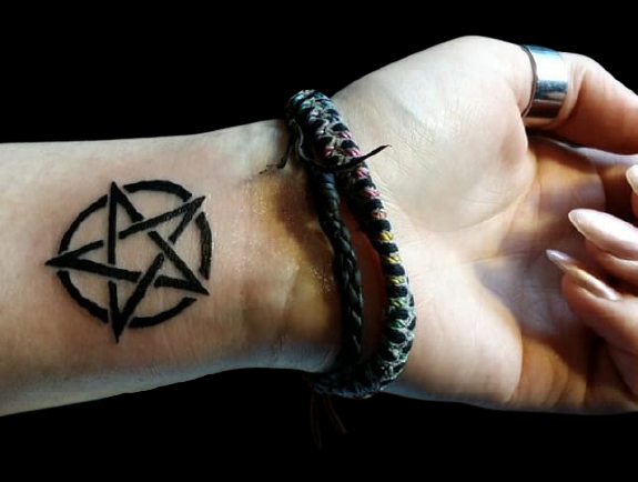 wiccan tattoos